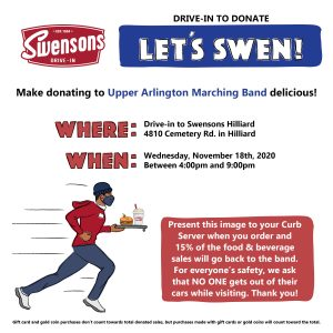 Dining Fundraiser at Swenson's @ Swenson's
